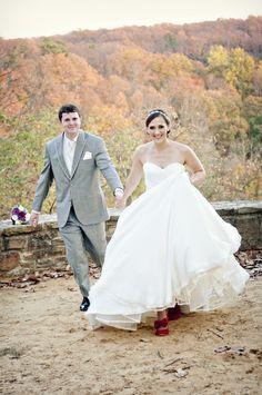 A Rustic November wedding ~ running