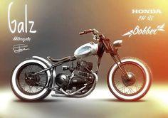 Honda CM125 Bobber by Galz Motorcycles #motorcycles #bobber #motos | caferacerpasion.com