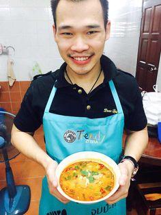 Recette Tom Yam. Voici la recette d'une soupe de crevettes épicée, avec la liste des ingrédients et la méthode pour réaliser cette soupe thaïlandaise
