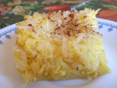 Must Try: Magic Coconut Pie |  quick and easy dessert