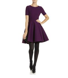 Yves Saint Laurent Fit and Flare Dress