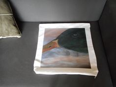 Impression of original pastel painting (on paper). The original can be eventually purchased: contact us! All the cushion covers have a limited edition: 25 pieces maximum. Cushion size: 45cm x 45cm
