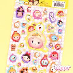 Tsum Tsum Puffy Stickers - Elsa