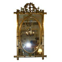 Giltwood Mirror - Charles Spada Antiques
