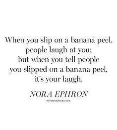 it's your laugh