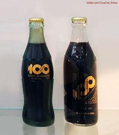 [Coke Bottle 24] 무광 유리병이 돋보이는 코카-콜라 병이네요! 1986년 코카-콜라 탄생 100주년을 맞이하여 일본에서 출시한 코카콜라 병입니다~! 코-크 보틀 하우스에서 만난 희귀 아이템이었어요!