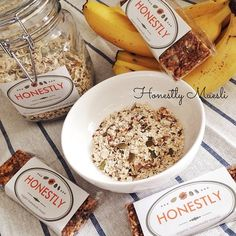 Muesli is always my favorite breakfast. I recommend this product called Honestly Muesli. Why? Because it's home-made, organic and simply yummy with balance taste!  Such a quality product!  #honestlymuesli #muesli #organic #homemade #granolabar  #banana #healthyfood #healthylife #yummy #makanansehat #kuliner #jakarta #indonesia