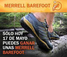 ¿Quieres unas zapatillas Barefoot? Si te gustan, Landher Montaña quiere regalarte un par #quierolasmerrelldelandher