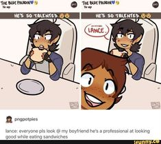 Just some cute comic pictures of Klance None of these pictures are mine Credit to artists Voltron Memes, Voltron Comics, Voltron Fanart, Voltron Ships, Voltron Klance, Form Voltron, Klance Comics, Cute Comics, Samurai