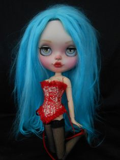Ooak Custom RBL Faceplates For Blythe Doll por Spookykidsworkshop