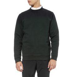 Raf SimonsDip-Dyed Cotton-Blend Sweatshirt