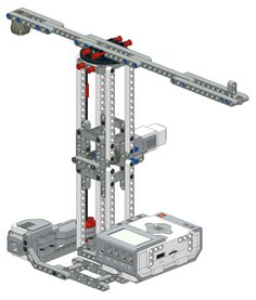 Lego Mindstorms EV3 Crane Lego Nxt, Lego Robot, Lego Wedo, Lego Mindstorms, Lego Technic Sets, First Lego League, Upcycling Projects, Geek Gadgets, Cool Lego Creations