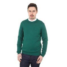 Versace 1969 Abbigliamento Sportivo Milano mens round neck sweater 9802 GIROCOLLO VERDONE