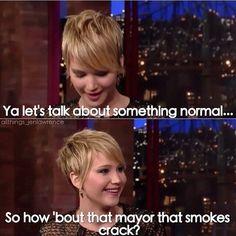 Jennifer Lawrence, shes so funny