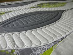 By Sew Kind of Wonderful- love the dimensionality of the quilting