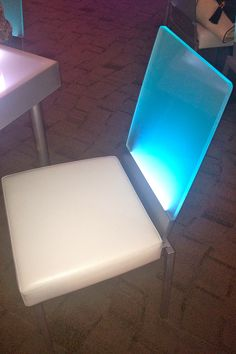 lighted chairs for events? yes please.