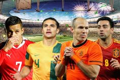 ᴴᴰ World Cup 2014 • Group B • Spain, Netherlands, Chile, Australia