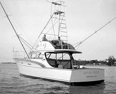 """Rybo Hull #22 """"Ban-Gee"""" launched in 1956.  Today's she's """"Mykonos"""""""