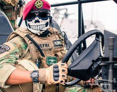 Indonesian Navy Special Force Kopaska03 Marine Special Forces, Marine Recon, Old Warrior, Battlefield 4, Army Wallpaper, Military Pictures, Army Soldier, Military Police, Armed Forces
