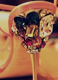 Jeweled heels ~