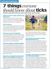 Tick tips everyone should know