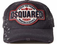 Dsquared Destroyed Canvas Baseball Cap Dark Grey Dsquared Destroyed Canvas Baseball Cap Dark Grey with a logo patch on front and back with intentionally destroyed areas that may vary and a adjustable strap at back. Colour: Dark Grey Fabric: 100% Cot http://www.comparestoreprices.co.uk/baseball-caps/dsquared-destroyed-canvas-baseball-cap-dark-grey.asp