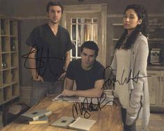 Being Human Cast Signed 8x10 Photo Authentic