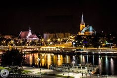 #Szczecin, #Poland Nightlights, Krakow, Free Travel, Best Cities, Plan Your Trip, Travel Guides, Places To See, Paris Skyline, Around The Worlds