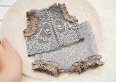 Newborn Photo Props Newborn Lace Outfit Newborn Bloomers