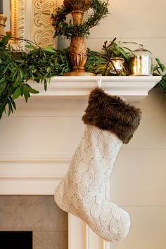 Fun Christmas decor for the mantel: http://www.stylemepretty.com/living/2014/11/19/deck-the-mantel-with-pier-1-imports/