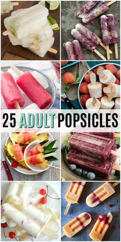 DON'T LET THE KIDS HAVE ALL THE FUN THIS SUMMER! THESE 25 ADULT ALCOHOLIC POPSICLES WILL COOL YOU DOWN AND GET THE PARTY STARTED! #Realhousemoms #Dessert #Adultpopsicles #Summerdessert #Alcoholic