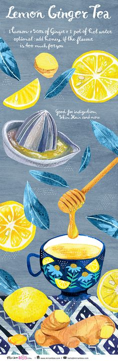 Recipe for 'They Draw and Cook' - by Miriam Bos #Food #foodart #foodillustration #recipe