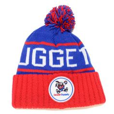 "Denver Nuggets Mitchell & Ness NBA ""The High 5"" Vintage Cuffed Knit Hat w/ Pom - http://bignbastore.com/nba-winter-attire/denver-nuggets-mitchell-ness-nba-the-high-5-vintage-cuffed-knit-hat-w-pom"
