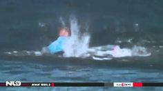 vận động viên lướt ván bị cá mập tấn công
