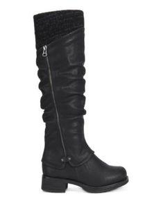 Muk Luks Women's Bianca Boot at Famous Footwear Casual Winter Boots, Winter Heels, Hiking Boots Women, Snow Boots Women, Mid Calf Boots, Knee High Boots, Casual Heels, Boots Online, Cool Boots