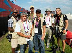Olympics shooters: From left: Vernon Bryant, The Dallas Morning News; John Leyba, Denver Post; Brian Peterson, Minneapolis Star Tribune; Nhat Meyer, San Jose Mercury News; Smiley Pool, Houston Chronicle; Paul Kitagaki, Sacramento Bee.