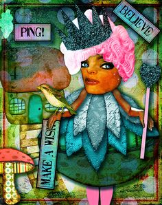 'Ping!' created by Beth Todd©2014 using images from Tumble Fish Studio and Crowabout StudioB http://www.deviantscrap.com/shop/