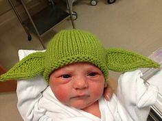 Ravelry  whiteheadmom s Yoda Beanie Baby Hats 627823a8f34