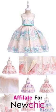 Long Sleeved Princess Skirt Girls Animal Cotton Dinosaur One-Piece Gown Dress Autumn and Spring