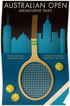 Printing Furniture Nervous System Match Tips Tennis Serve, Tennis Match, Play Poster, Poster Poster, Tennis Australia, Australian Open Tennis, Tennis Posters, Tennis Party, Tennis Tips