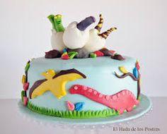 tortas dinosaurios - Buscar con Google
