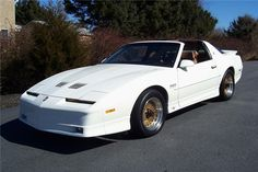 1989 PONTIAC TRANS AM 20TH ANNIVERSARY ...