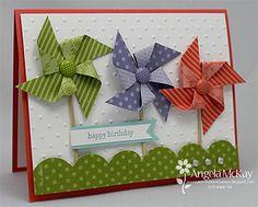 Happy Birthday Pinwheel Card