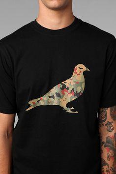 Staple Camo Pigeon Tee #UrbanOutfitters