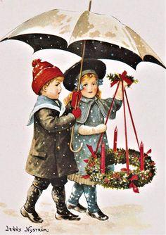 JUL KORT DUBBELT/JENNY NYSTRÖM (375077564) ᐈ Köp på Tradera Whimsical Art, Christmas Cards, Fictional Characters, Christmas E Cards, Fantasy Characters, Christmas Card Sayings, Quirky Art, Christmas Greetings, Merry Christmas Card