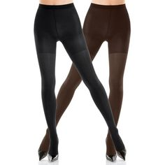 Spanx Blackbittersweet Reversible Tight End Tights - Women's ($34) ❤ liked on Polyvore featuring intimates, hosiery, tights, spanx pantyhose, spanx stockings, spanx hosiery, spanx and spanx tights
