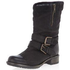 Dorothy Perkins black biker-boots 22835501