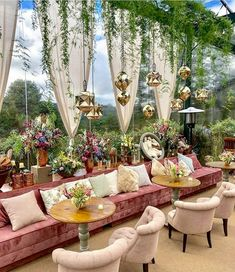 Coffee Shop Design, Cafe Design, House Design, Desi Wedding Decor, Outdoor Wedding Decorations, Chic Wedding, Wedding Lounge, Party Decoration, Lounges