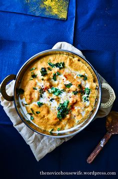 Shahi Paneer... Indian food with Indian Cheese, simmering cashew tomato and onion sauce...so good.. must try this!