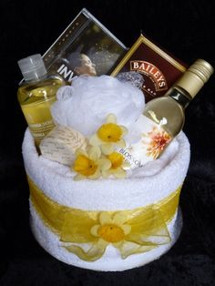 Pamper Cakes - I think I could make my own.